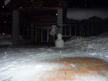 雪だるまん4号12(2010.12.28)