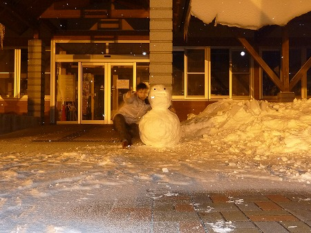 雪だるまん4号17(2010.12.28)