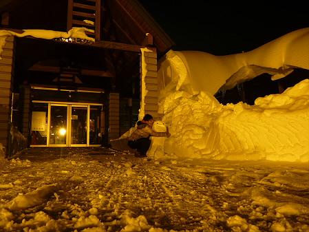 雪だるまん4号捜索09(2011.1.4)