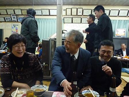 平笠裸参り05(2011.1.8)公民館で直会