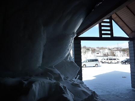 雪の造形物(2011.1.11)