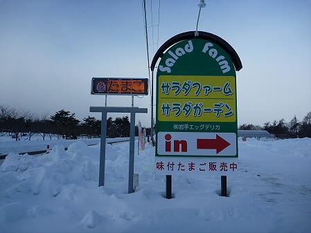 サラダファーム看板(2011.1.20)