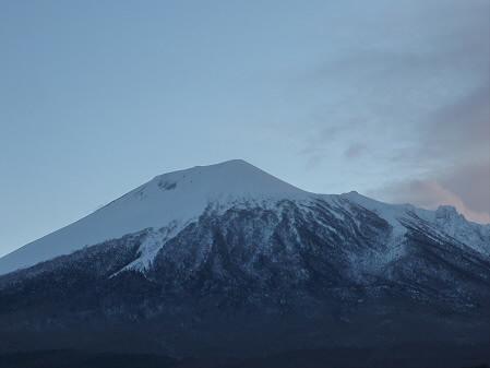 岩手山の頭アップ01(2011.1.25)