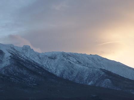 岩手山の頭アップ02(2011.1.25)