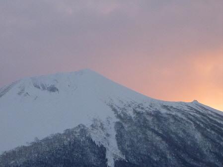 岩手山の頭アップ03(2011.1.25)