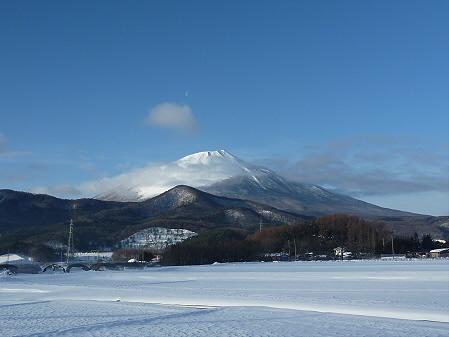 平笠の岩手山(2011.1.26)
