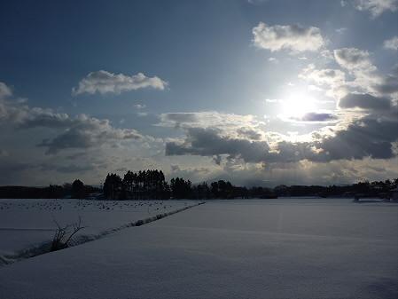 平笠の田んぼ01(2011.2.1)