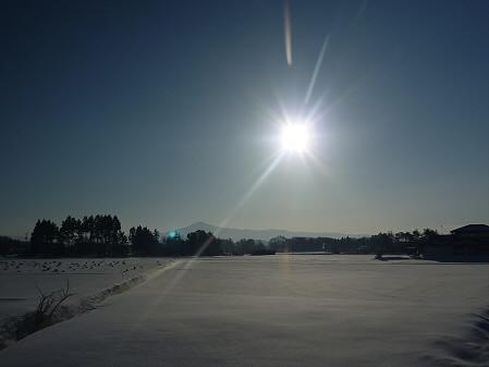 平笠の田んぼ01(2011.2.2)