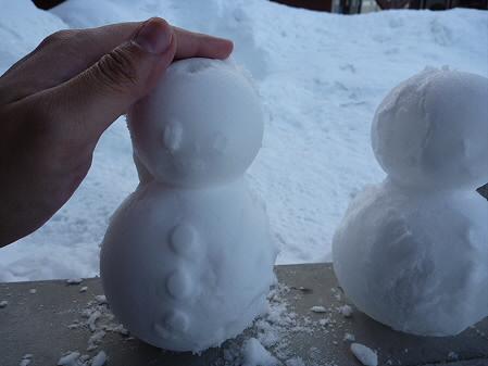 雪だるまん5~8号05(2011.2.8)