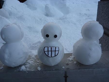雪だるまん5~8号06(2011.2.8)
