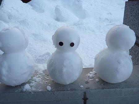 雪だるまん5~8号07(2011.2.8)