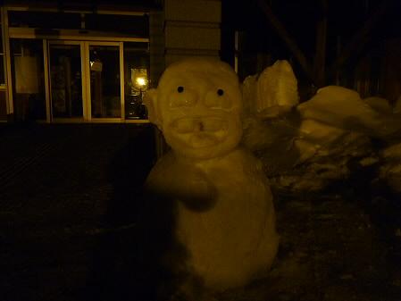雪だるまん32号08(2011.2.10)