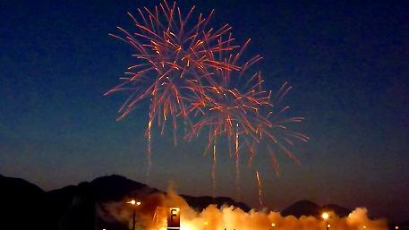 大曲の夜花火19(2010.8.28)