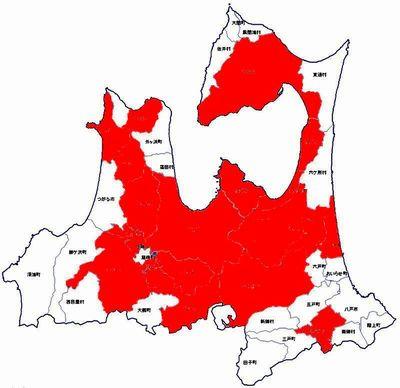 青森地図(赤)