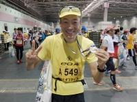FB141026大阪マラソン・ゴール後DSCF7722