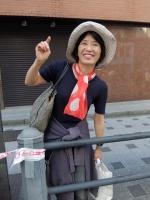 FB141026大阪マラソン1-1大賀さん奥さんDSCF7345