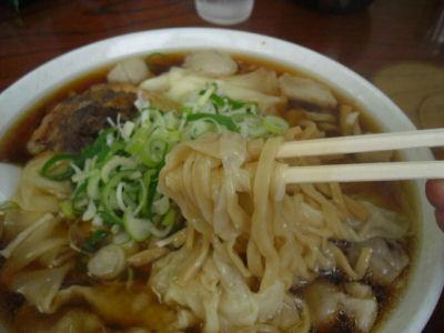 まんぴワンタン麺