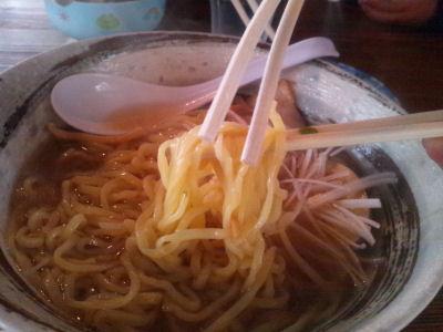 いまじん醤油麺
