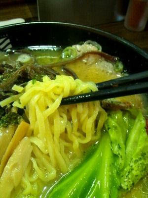 晴天味噌麺