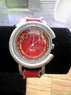 手作り時計アルミ2