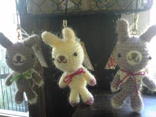 編みぐるみうさぎさん