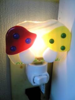 フュージングきのこ足元ランプ
