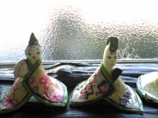 陶器のお雛様2