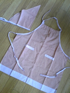 エプロン&三角巾