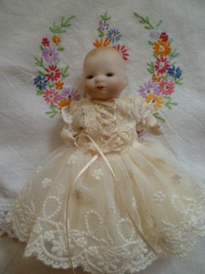 ベビーちゃんのドレス♪