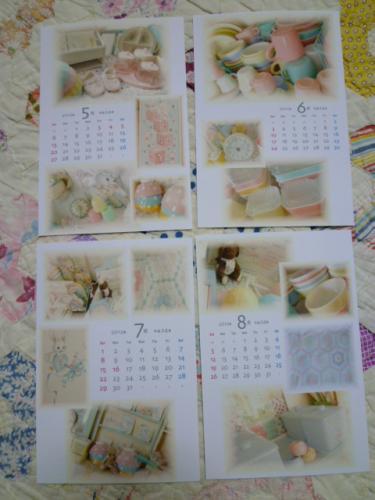 creamgreenさん カレンダー♪