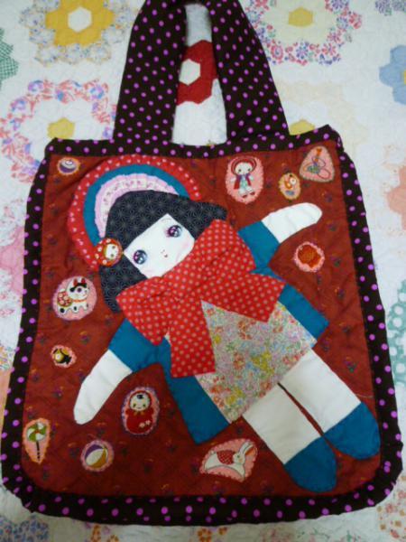 文化人形ちゃんのバッグ♪