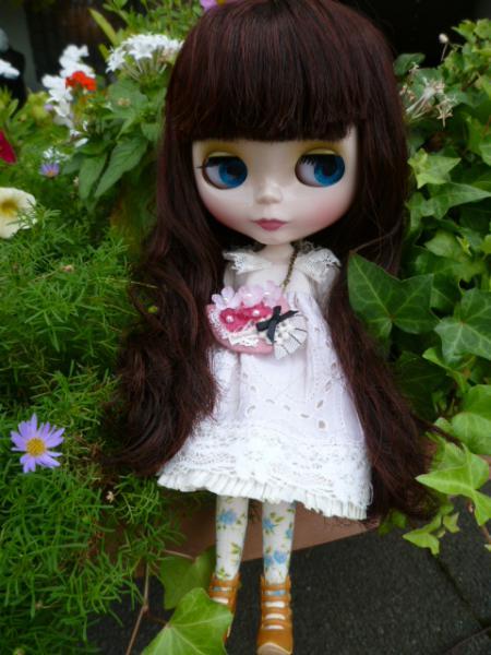 花摘みドレスセット♪