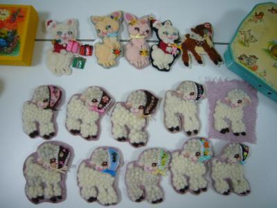 羊毛刺繍♪