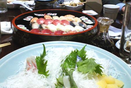 いさみ寿司で二次会(26.1.6)