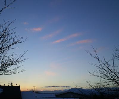 夕焼雲(26.1.15)