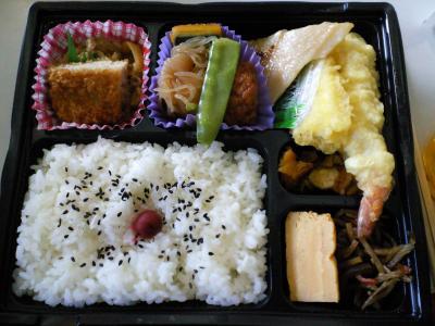お昼はお弁当(26.1.24)