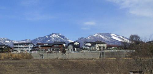 冬の浅間山(26.1.24)