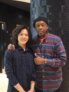 Riku with Marty2