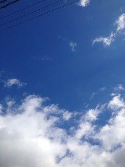 いい天気な日