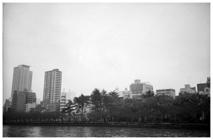 京阪天満橋駅の側