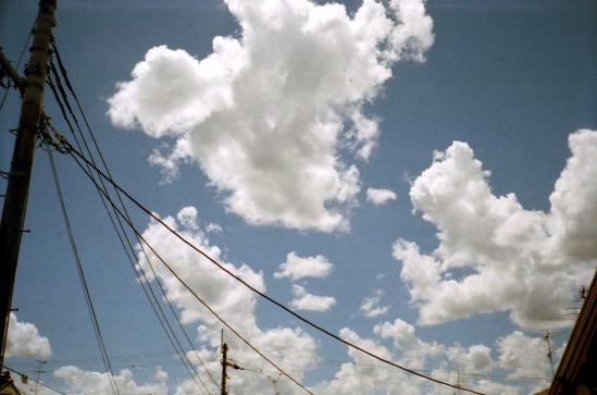 2012晩夏の空