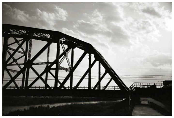 近鉄宇治川鉄橋