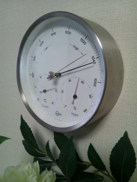 20121011バリゴの温湿気圧計