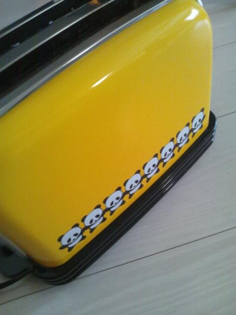 20121203パンダトースター