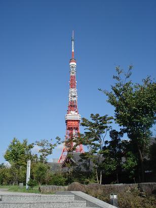 おおお~東京タワー