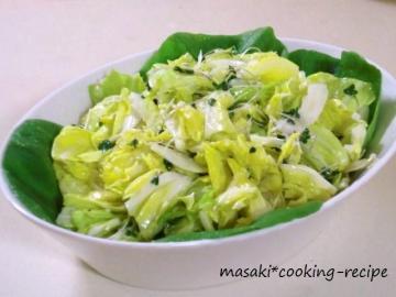 120429春キャベツの塩麹サラダ