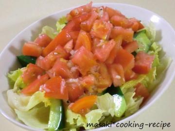 120806ごろごろトマトの食べるドレッシングサラダ