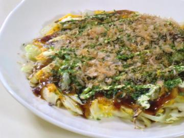 ★1209キャベツと卵だけのお好み焼き