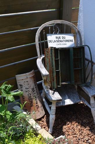 ガーデン雑貨コーナー