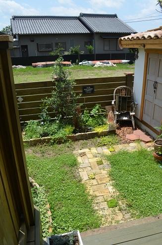 ガーデン完成